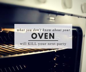 """What you don't know about your oven"" graphic for your next Tahoe Dinner Party"