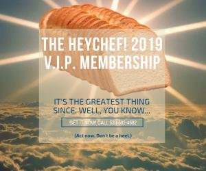 Loaf of Bread Truckee Personal Chef V.I.P. Membership